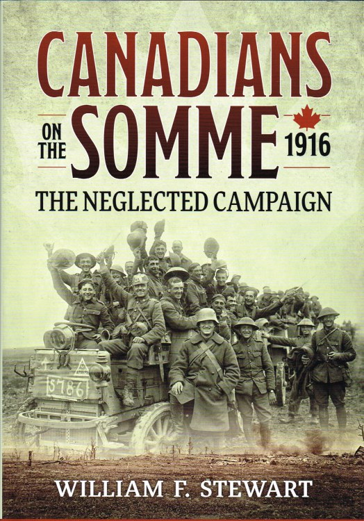 Image for CANADIANS ON THE SOMME 1916 : THE NEGLECTED CAMPAIGN