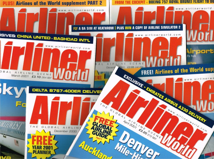 Image for AIRLINER WORLD MAGAZINE (BACK ISSUES IN STOCK)
