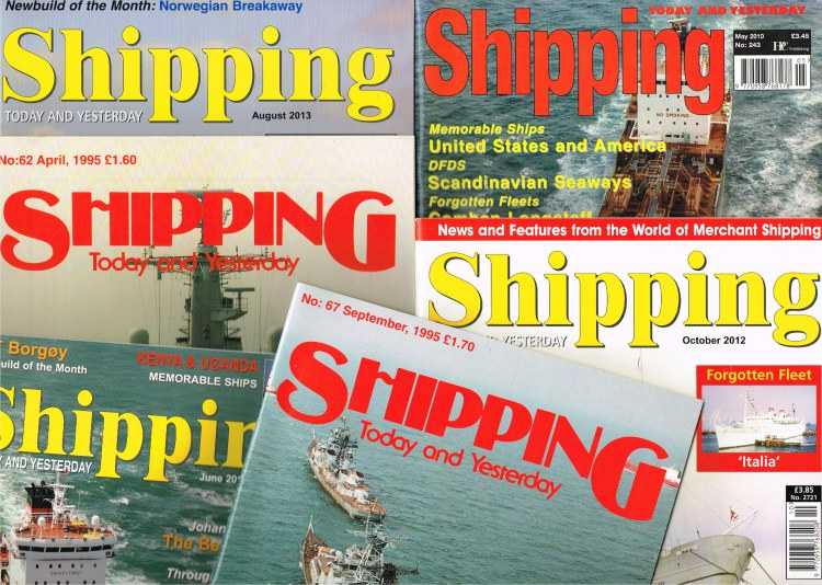Image for SHIPPING TODAY AND YESTERDAY - MAGAZINE (BACK ISSUES IN STOCK)