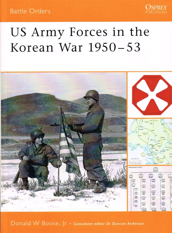 Image for US ARMY FORCES IN THE KOREAN WAR 1950-53
