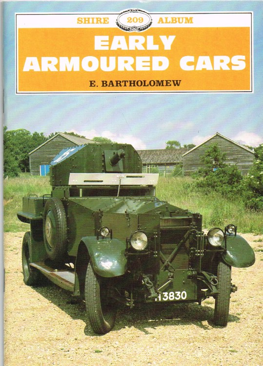 Image for EARLY ARMOURED CARS