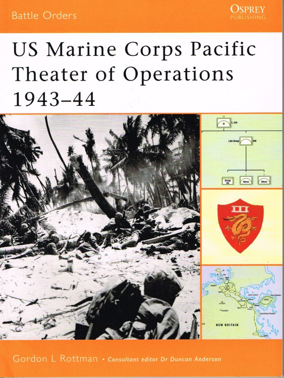 Image for US MARINE CORPS PACIFIC THEATRE OF OPERATIONS 1943-44