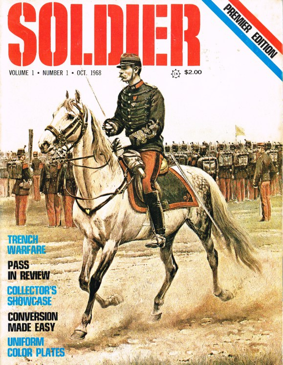 Image for SOLDIER VOLUME 1 NUMBER 1 OCT. 1968 PREMIER EDITION