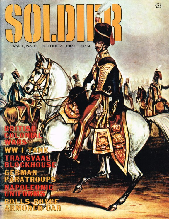 Image for SOLDIER VOLUME 1 NUMBER 2 OCT. 1969
