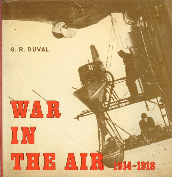 Image for WAR IN THE AIR 1914-1918 : A PICTORIAL SURVEY