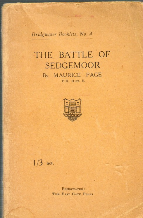 Image for THE BATTLE OF SEDGEMOOR (2ND EDITION)