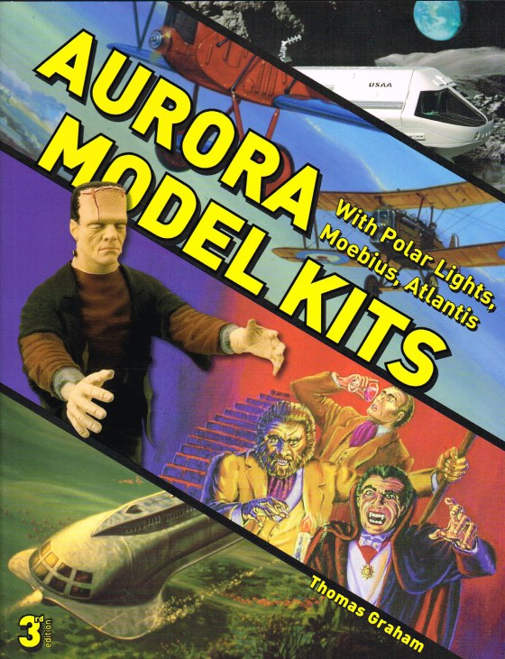 Image for AURORA MODEL KITS WITH POLAR LIGHTS, MOEBIUS, ATLANTIS (3RD EDITION)