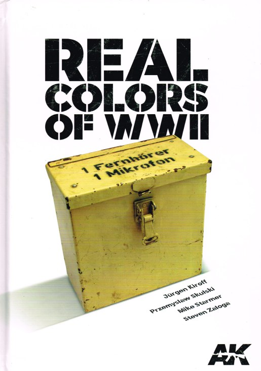 Image for REAL COLORS OF WWII