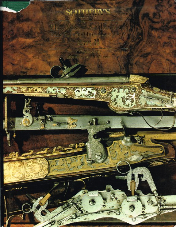 Image for THE VISSER COLLECTION OF FINE, RARE AND IMPORTANT ARMS PART II : LONDON, MONDAY 3RD JUNE 1991