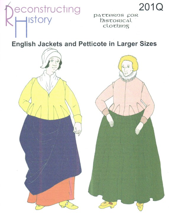 Image for RH201Q: ENGLISH JACKETS AND PETTICOTE IN LARGER SIZES