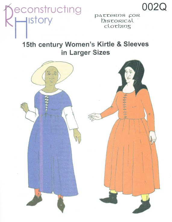 Image for RH002Q: 15TH CENTURY WOMEN'S KIRTLE & SLEEVES IN LARGER SIZES