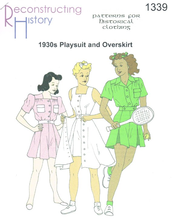 Image for RH1339: 1930S PLAYSUIT AND OVERSKIRT