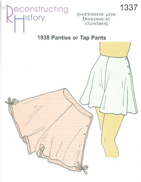 Image for RH1337: 1938 PANTIES OR TAP PANTS