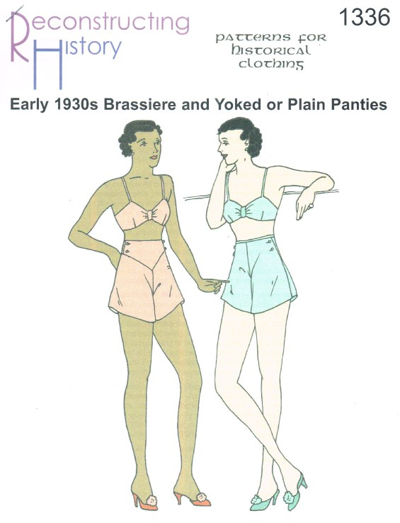 Image for RH1336: EARLY 1930S BRASSIERE AND YOKED OR PLAIN PANTIES