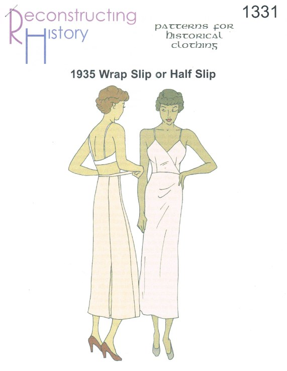 Image for RH1331: 1935 WRAP SLIP AND HALF SLIP