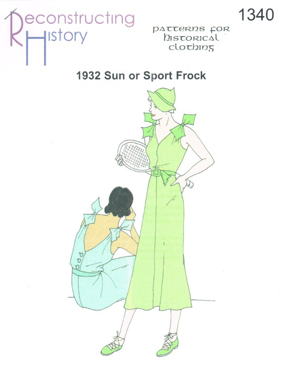 Image for RH1340: 1932 SUN OR SPORT FROCK