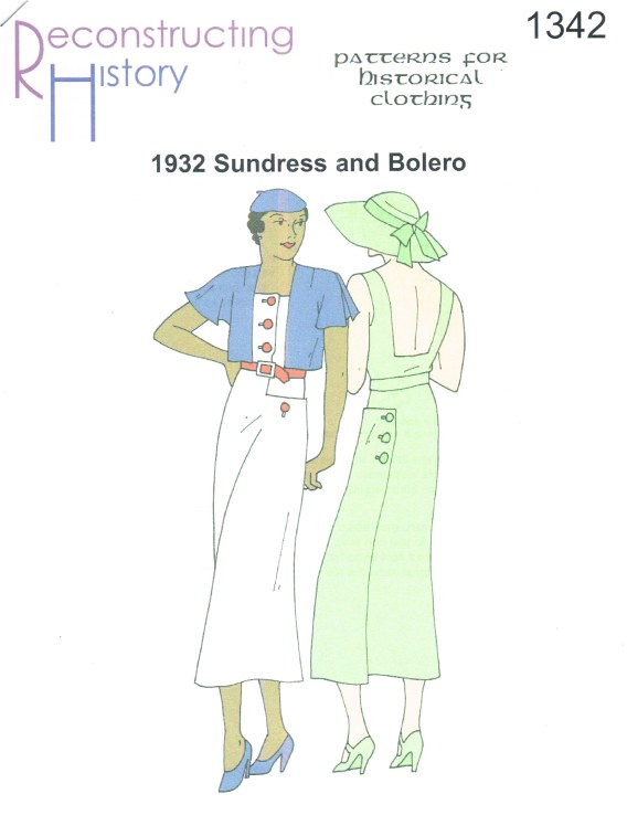 Image for RH1342: 1932 SUNDRESS AND BOLERO