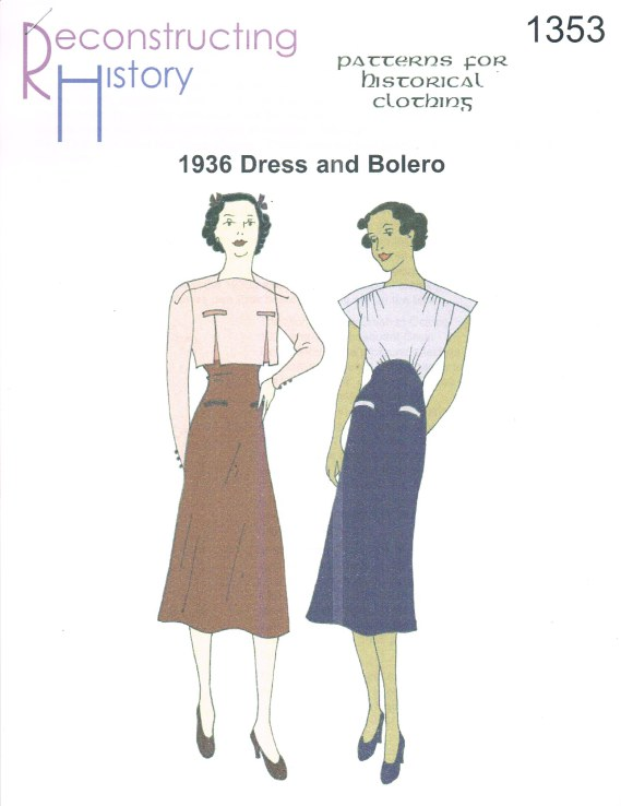 Image for RH1353: 1936 DRESS AND BOLERO