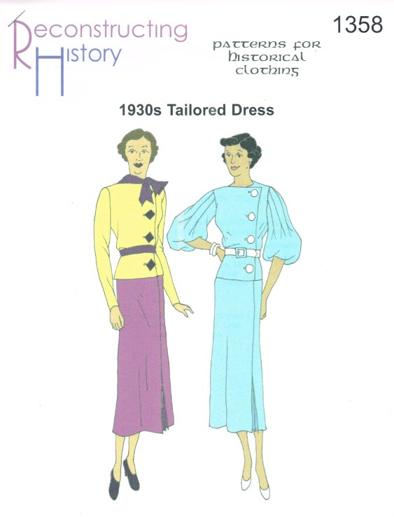 Image for RH1358: 1930S TAILORED DRESS