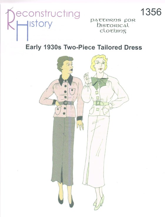 Image for RH1356: EARLY 1930S TWO-PIECE TAILORED DRESS