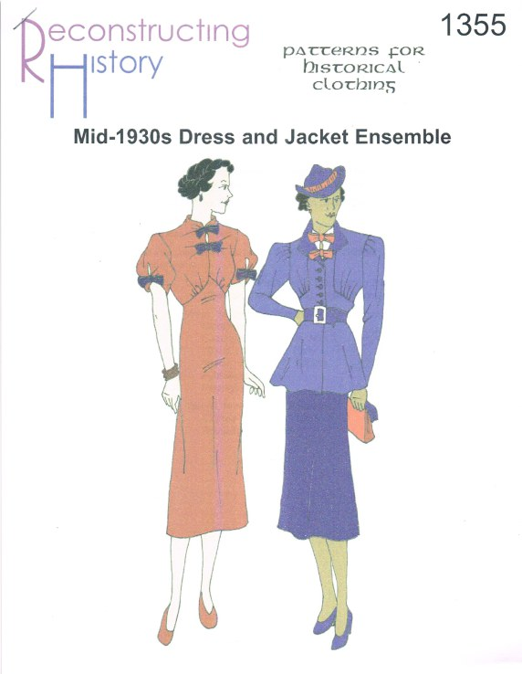 Image for RH1355: MID-1930S DRESS AND JACKET ENSEMBLE