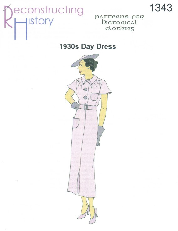 Image for RH1343: 1930S DAY DRESS