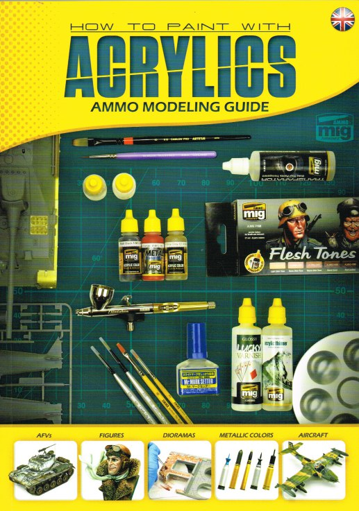 Image for HOW TO PAINT WITH ACRYLICS - AMMO MODELING GUIDE