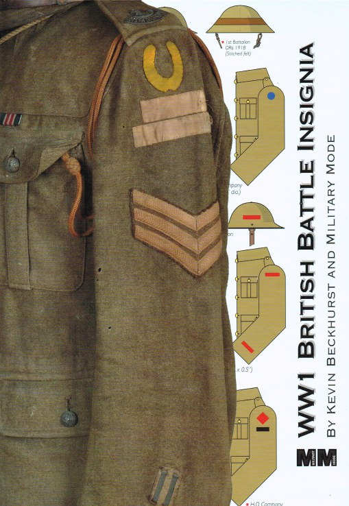 Image for WW1 BRITISH BATTLE INSIGNIA