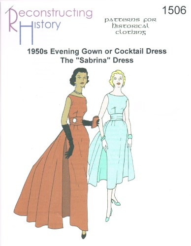 Image for RH1506: 1950S EVENING GOWN OR COCKTAIL DRESS - THE 'SABRINA' DRESS