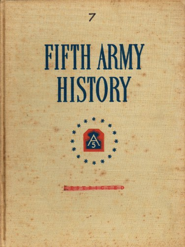 Image for FIFTH ARMY HISTORY : PART VII : THE GOTHIC LINE: 16 AUGUST - 15 DECEMBER 1944