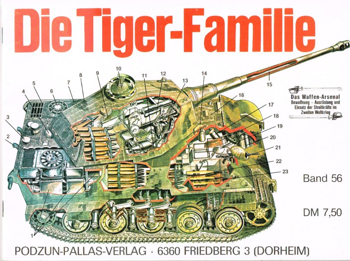 Image for DIE TIGER-FAMILIE (GERMAN TEXT)