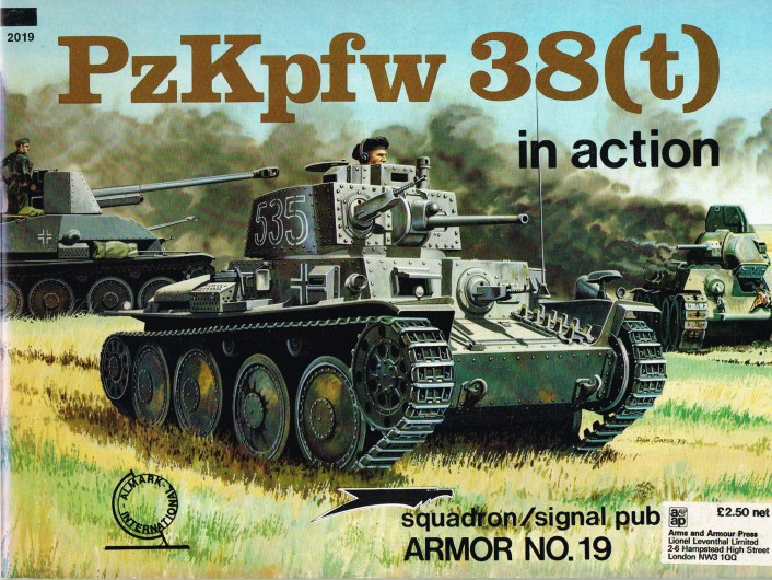 Image for PZKPFW 38 (T) IN ACTION