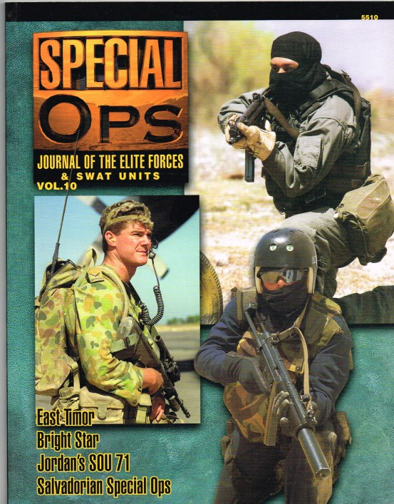 Image for SPECIAL OPS : JOURNAL OF THE ELITE FORCES & SWAT UNITS VOL.10