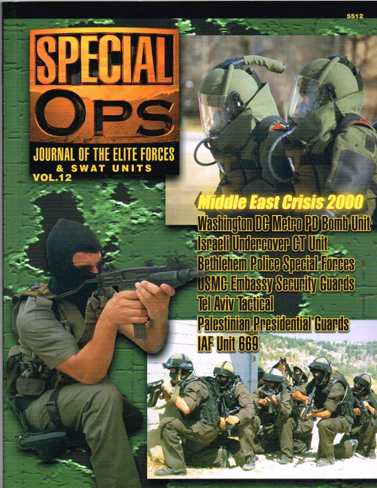 Image for SPECIAL OPS : JOURNAL OF THE ELITE FORCES & SWAT UNITS VOL.12