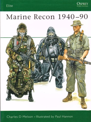 Image for MARINE RECON 1940-90