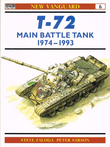 Image for T-72 MAIN BATTLE TANK 1974-1993