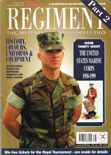 Image for REGIMENT: ISSUE THIRTY EIGHT - THE UNITED STATES MARINE CORPS PART 2: 1950-1999