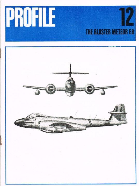 Image for AIRCRAFT PROFILE 12: THE GLOSTER METEOR F.8