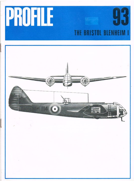 Image for AIRCRAFT IN PROFILE 93: THE BRISTOL BLENHEIM I