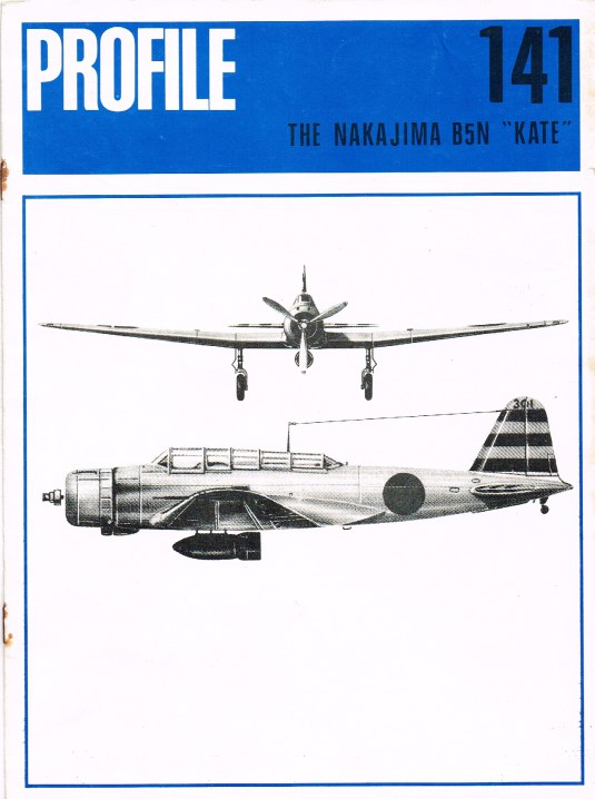 Image for AIRCRAFT IN PROFILE 141: THE NAKAJIMA B5N 'KATE'