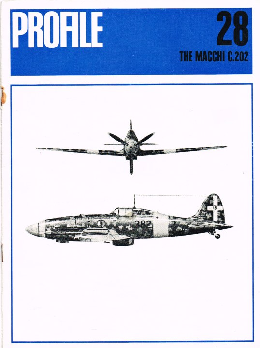 Image for AIRCRAFT IN PROFILE 28: THE MACCHI C.202