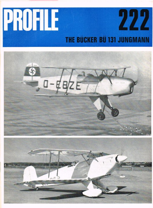 Image for AIRCRAFT IN PROFILE 222: THE BUCKER BU 131 JUNGMANN