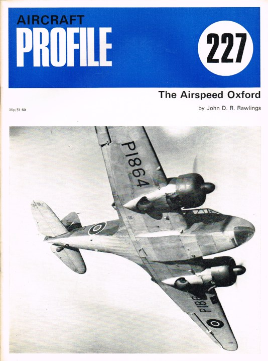 Image for AIRCRAFT IN PROFILE 227: THE AIRSPEED OXFORD