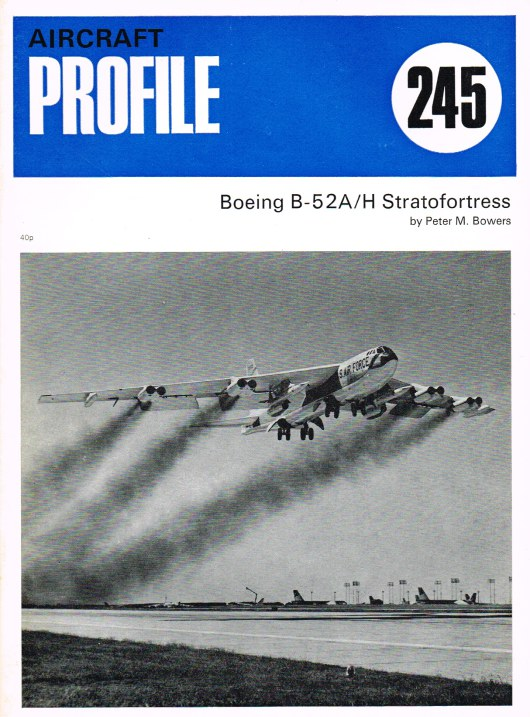 Image for AIRCRAFT PROFILE 245: BOEING B-52A/H STRATOFORTRESS