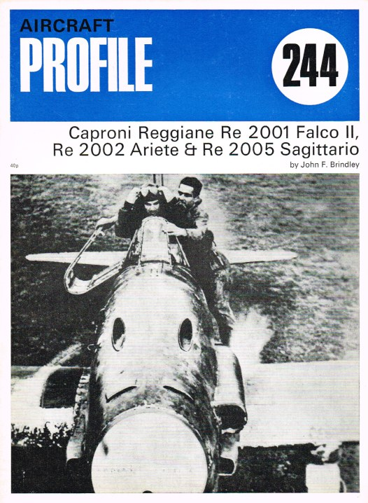 Image for AIRCRAFT IN PROFILE 244: CAPRONI REGGIANE RE 2001 FALCO II, RE 2002 ARIETE & RE 2005 SAGITTARIO