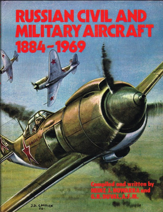 Image for RUSSIAN CIVIL AND MILITARY AIRCRAFT 1884-1969