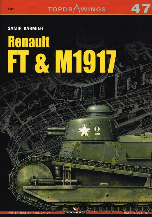 Image for TOPDRAWINGS 47: RENAULT FT & M1917