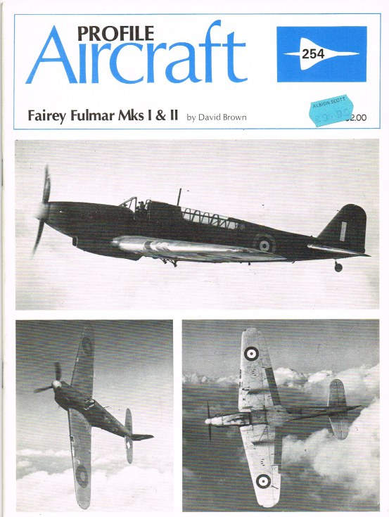 Image for AIRCRAFT IN PROFILE 254: FAIREY FULMAR MKS I & II