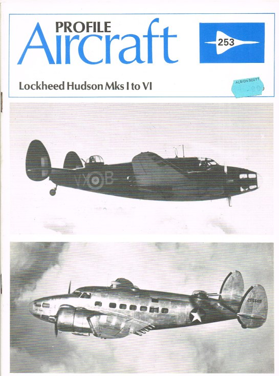 Image for AIRCRAFT IN PROFILE 253: LOCKHEED HUDSON MKS I TO VI