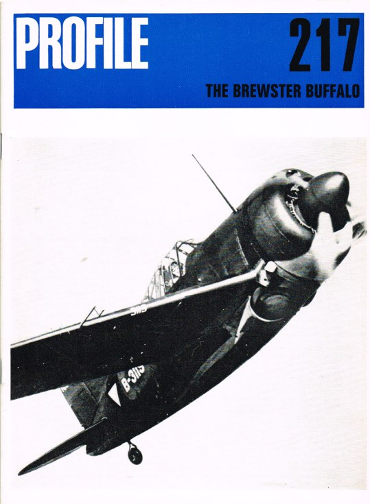 Image for AIRCRAFT IN PROFILE 217: THE BREWSTER BUFFALO
